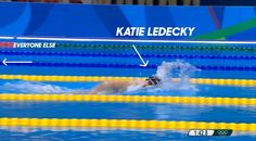 NBC Olympics @NBCOlympics  10h10 hours ago That's just not fair, @katieledecky! #Swimming #Rio2016