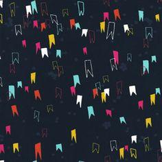 Cotton + Steel Rashida Coleman-Hale Moonlit Gnome Pants - LAWN