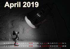 april 2019 calendar with holidays Cute Calendar, 2019 Calendar, Calendar Wallpaper, Hd Wallpaper, Months In A Year, Printables, Holidays, Wallpaper In Hd, Holidays Events