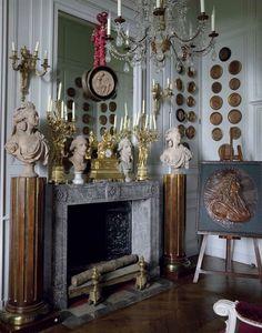 Château de Digoine, French Filmmaker Jean-Louis Remilleux's Antique-Filled Chateau...