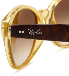 Gold Ray Bans