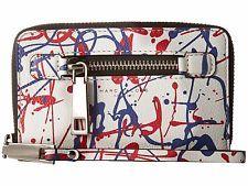 WT Marc Jacobs SPECIAL EDITION Splatter Paint Leather Zip iPhone 6 & 6s Wristlet