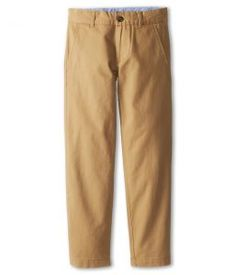 Tommy Hilfiger Kids Academy Chino Pant (Big Kids) (Golden Khaki) Boy's Casual Pants