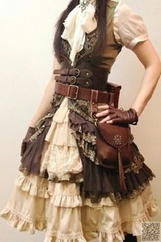 21. #Comfy Outfit - 59 #Steampunk Fashion Ideas You Are #Going to Love ... → Fashion #Fashion