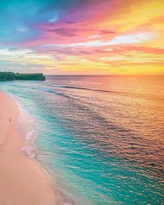 New Photography Beach Ocean Beautiful Sunset Ideas Beautiful Sunset, Beautiful World, Amazing Sunsets, Most Beautiful Beaches, Nature Wallpaper, Pink Wallpaper, Belle Photo, Pretty Pictures, Pictures Of The Beach
