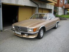 Mercedes-Benz SL 350 SL EU  1972, 201000 km, kr 70000,- -