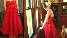 1950's prom dress (by Jane Gardner) http://lookbook.nu/look/647467-195-s-prom-dress