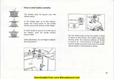 Necchi 522 – 523 Sewing Machine Instruction Manual.  Manual includes:  * Threading machine. * Winding bobbin. * Adjusting tension. * Needle selection. * Variety of stitches. * Parts diagram. * Detachable table. * Belt tension. * Cleaning and oiling machine. * Trouble shooting. * Sewing tips. * Much more!  46 page instruction manual.  A download link will be emailed to you.