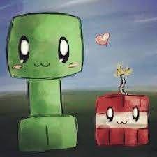 Cute Minecraft | Cute Creeper Wallpaper Cutie creeper - minecraft
