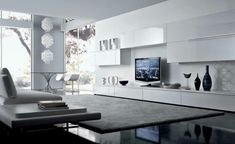 Contemporary Wall Units For Tv | This For All