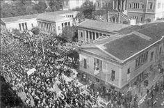 Το μήνυμα του Πολυτεχνείου - Νεα, Γενικες πληροφοριες. Greece, Mansions, History, House Styles, Outdoor, Home Decor, Cyprus News, Students, Greece Country