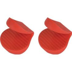 #9: Trudeau Stay Cool Silicone Pinch Holders, Set of 2