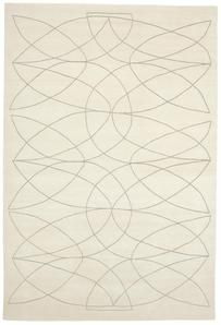 Akana WH Rug    Product Family: Akana    Designer: Kristiina Lassus     Colour: Natural White - Light Beige    Standard quality: KL107B - 100 knots, Wool, Bamboo Silk, Pattern Natural Linen    Handknotted in Nepal, lo...