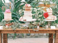 Three wedding cakes by Groovy Deliciousness; Mon Cheri Bridal, Fair Photography, Head Tables, Wedding Decorations, Table Decorations, Bride Bouquets, Autumn Wedding, Autumn Inspiration, Flower Designs