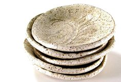 ceramic tapas plate cookies and cream handmade stoneware pottery rustic tableware by Melinda Marie Alexander from Ravenhillpottery #pottery #clay #rustic dining #rustic kitchen