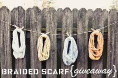 braided scarves