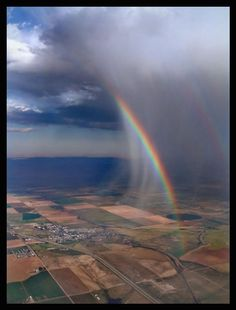 Rainbow sotrm.
