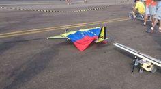 """Avion radio-controlado diseñado en Venezuela """"volará"""" a competir en Brasil"""