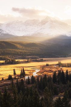 "alecsgrg: "" Sunset in Crowsnest Pass 