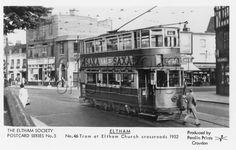 Tram at Eltham High Street