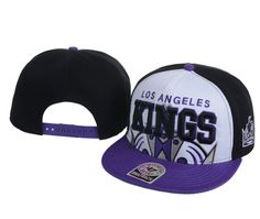 7420dc53c7f3f NHL Los Angeles Kings Hot Sale 47 Brand Snapback Hats Caps White Purple  ID 5051