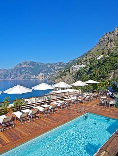 Casa Angelina on the Amalfi Coast, Italy: the Amalfi coast's first real design hotel.