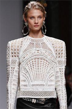 Sfilata Balmain Paris - Collezioni Primavera Estate 2013 - Vogue