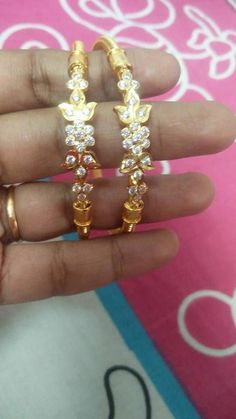 Bracelets – Page 4 – Finest Jewelry Gold Bangles Design, Gold Earrings Designs, Gold Jewellery Design, Necklace Designs, Gold Jhumka Earrings, Gold Necklace, Emerald Necklace, Gold Jewelry Simple, Jewelry Patterns