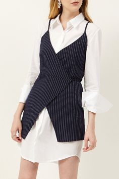Jana Layered Stripe Dress Discover the latest fashion trends online at storets.com