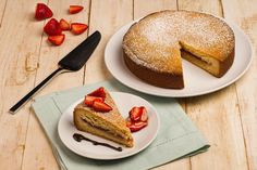 Recipe: Gâteau Basque with Strawberries
