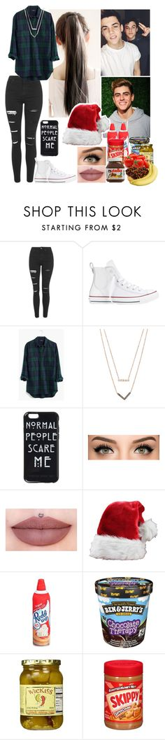 """Video With The Dolan Twins and Jack"" by j-etblackheart ❤ liked on Polyvore featuring Topshop, Converse, Madewell, Michael Kors, Dolan, Therapy, LIST and kitchen"