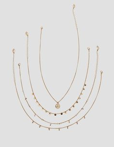 Set 5 collares moned