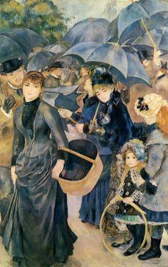 Pierre-Auguste Renoir - Les Parapluies