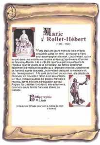 Louis Hébert et Marie Rollet (my generation grandmother) Name Crafts, Work For Hire, Genealogy Organization, Mother Family, My Family History, Canadian History, Quebec, Ancestry, Marie