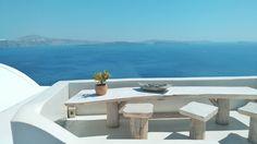 Buenos días, pervers@. Con ganas de tomar un desayuno como en vacaciones. Tierra, trágame y escúpeme en Santorini.