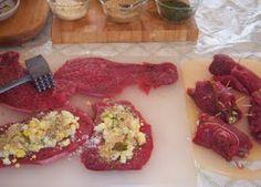 Braciole Italian Stuffed Meat Rolls