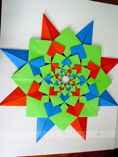Stephen's Origami: Tomoko Fuse's Origami Quilts