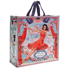 It's back! The best bag ever! If ever there was a time to get one of these it's now! Limited stock! #red #blue #flotus #mighty #michelleobama #kitsch #bag #michelle #firstlady #dollydagger https://goo.gl/Z1kJpy