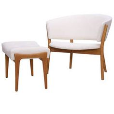 Nanna Ditzel Lounge Chair and Ottoman