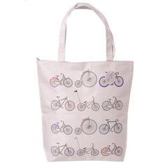 Látková taška se zipem Retro kolo #dekorace #doplnky #kolo #accessories #giftware #bicycle #handbag