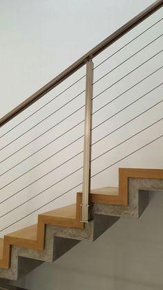 מעקה למדרגות Modern Staircase, My House, Blinds, Stairs, House Design, Architecture, Tables, Home Decor, Bouldering
