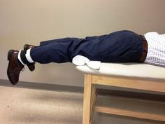 The Prone Hang Exercise to Improve Knee Extension Range of Motion