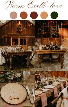 Fall Wedding Decorations, Fall Wedding Colors, Wedding Color Schemes, Fall Wedding Themes, Fall Wedding Inspiration, October Wedding Colors, Wedding Ideas, Lodge Wedding, Our Wedding