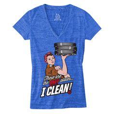 WODshop.com - Life As RX | Cleaning Plates - Royal Blue Marbled Women's V Neck, $27.00 (http://www.wodshop.com/life-as-rx-cleaning-plates-royal-blue-marbled-womens-v-neck/)