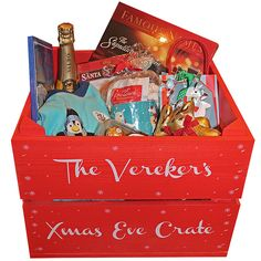 We just love the idea of the Christmas Eve hampers.  It's such a lovely way to build up the excitement for Christmas Day.