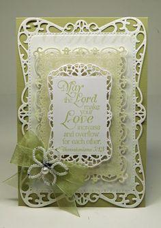 Th-INK-ing of You: Elegant Wedding or Engagement Card!