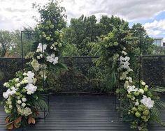 Wedding Ceremony Backdrop, Ceremony Decorations, Flower Decorations, Outdoor Wedding Inspiration, Floral Arch, Irish Wedding, Botanical Wedding, Backdrops, Wedding Flowers