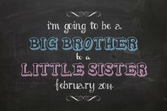 I'm going to be a Big Brother to a Little by PearlPearDesigns
