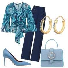 Stylish Outfits, Fashion Outfits, Fashion Sets, Simply Fashion, Milla Jovovich, Church Outfits, Blazer Outfits, Professional Women, Colored Blazer