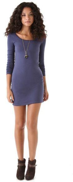 Splendid Long Sleeve Mini Dress on shopstyle.com